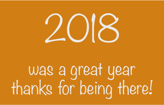 2018 was a great year